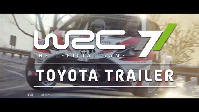 WRC7 Toyota Trailer