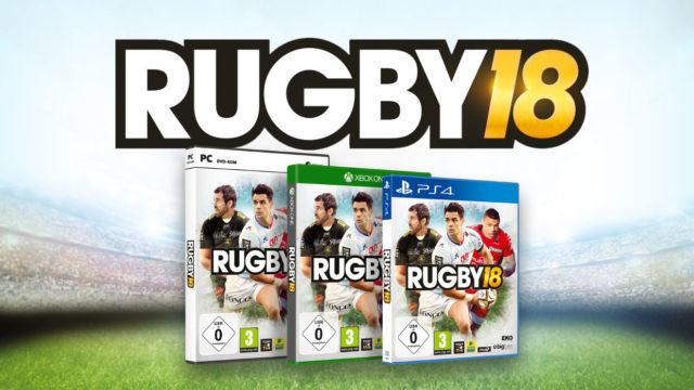Rugby18 veröffentlicht
