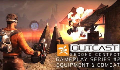 Outcast - Second Contact Gameplay
