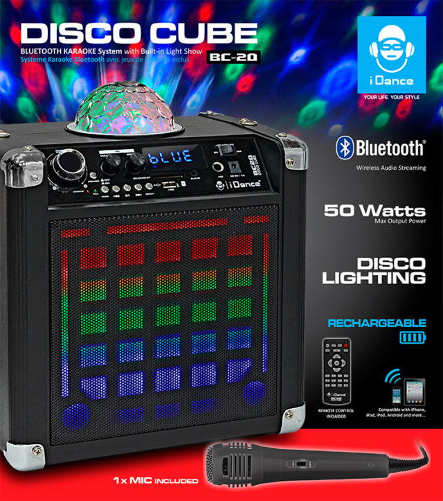 Karaoke System BC-20 – Packshot