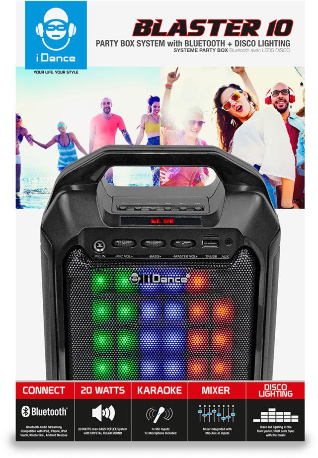 Party Box Blaster 10 - Packshot