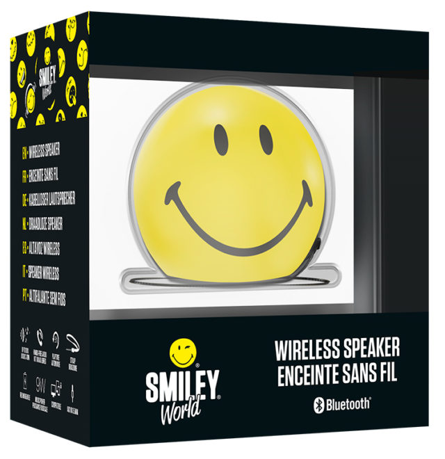 Bluetooth®-Lautsprecher BT15 – Smile - Packshot