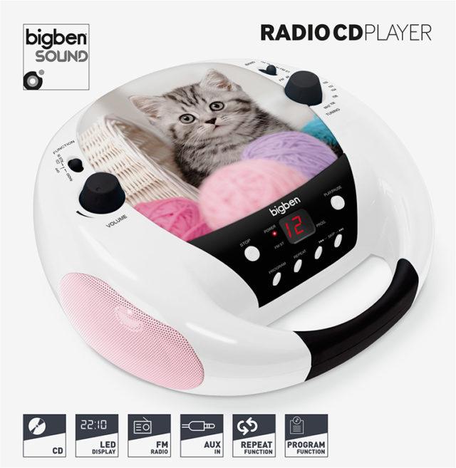 CD-Radio CD52 – Cats III - Packshot