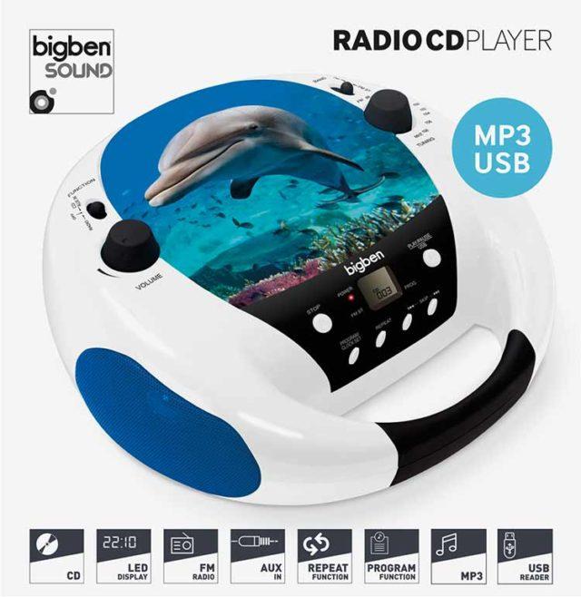 CD-Radio CD52 USB/MP3 – Dolphin - Packshot