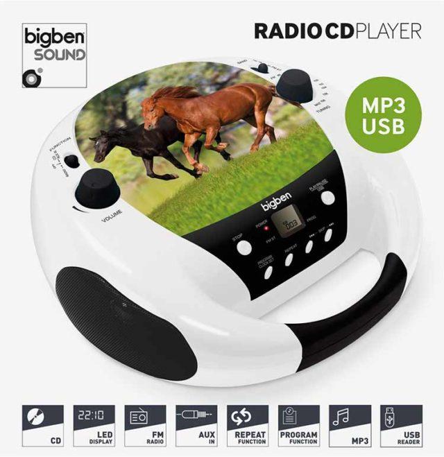 CD-Radio CD52 USB/MP3 – Horse - Packshot