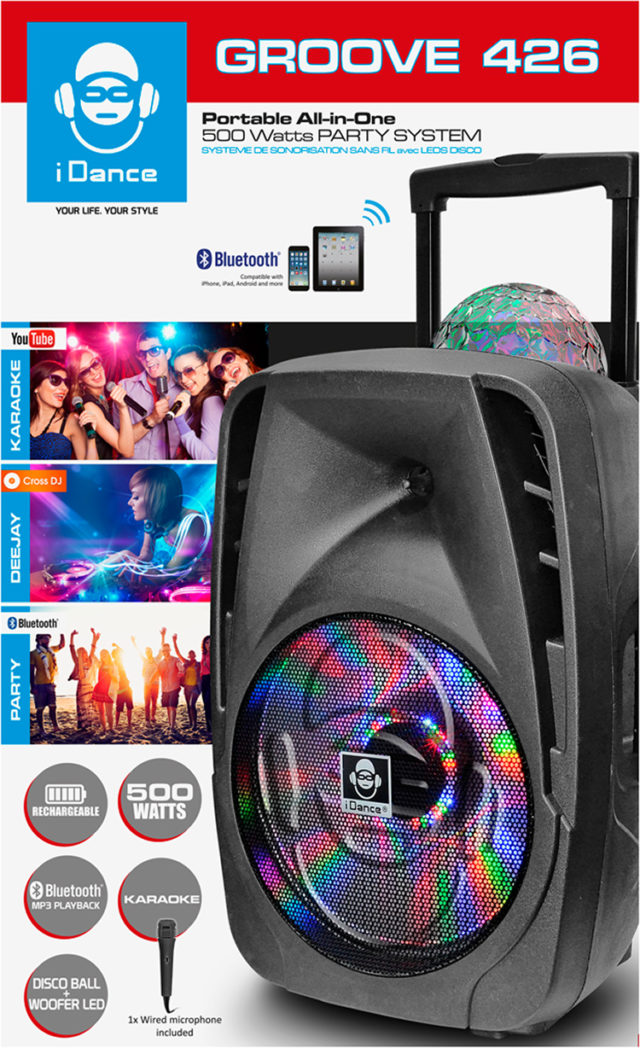 iDance Party Machine Groove 426 - Packshot
