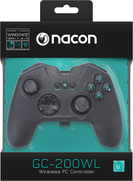 PC RF-Gaming Controller GC-200WL - Packshot