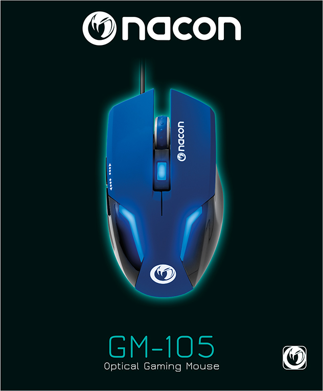 Optical Gaming Mouse GM-105 - Packshot
