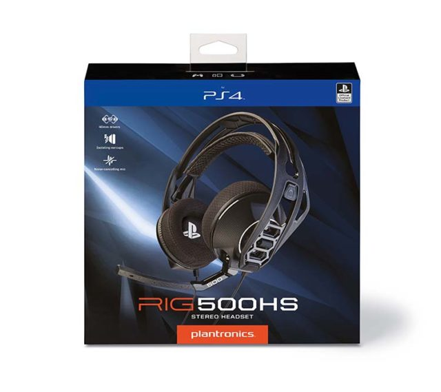 PLANTRONICS – RIG 500HS - Packshot