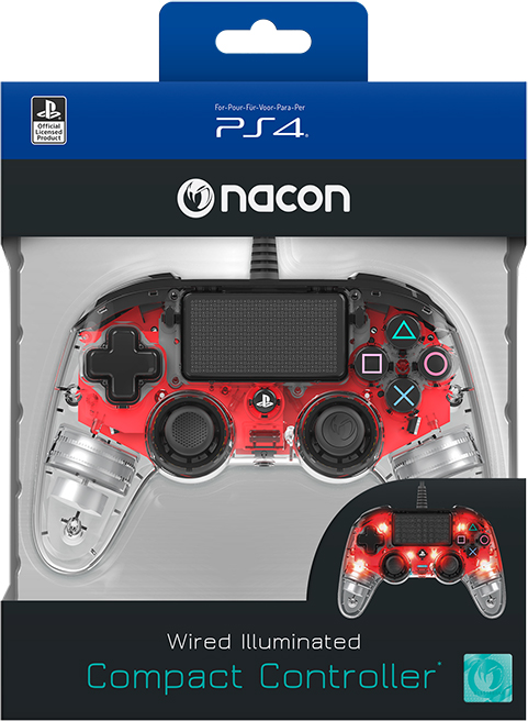 NACON PS4 Controller Light Edition – Packshot