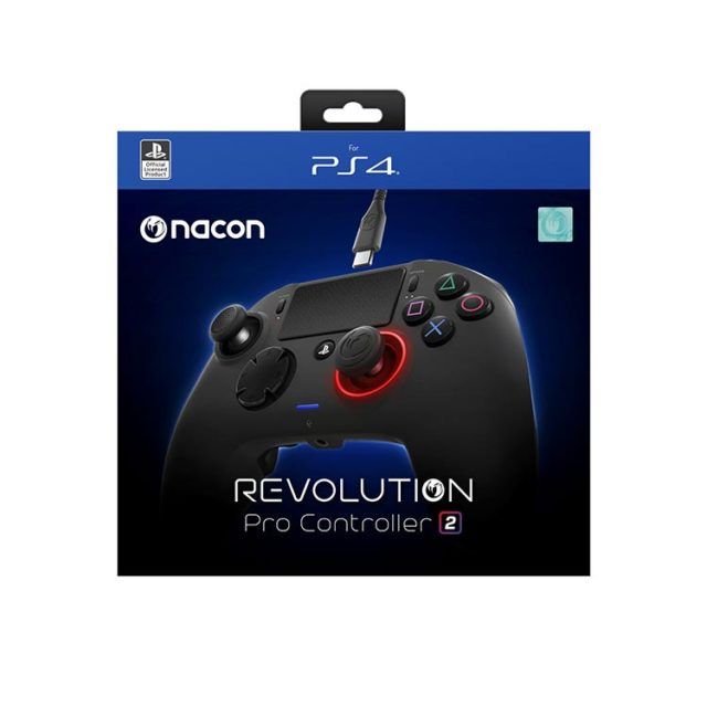 NACON PS4 Revolution Pro Controller 2 – Packshot