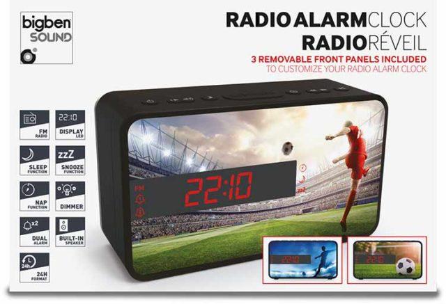 Radiowecker RR16 – Soccer - Packshot