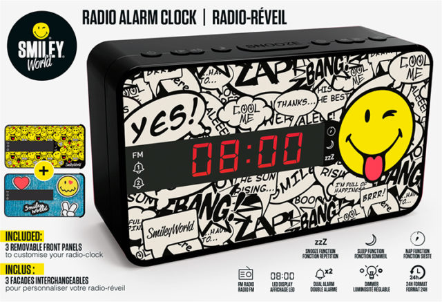 Radiowecker RR16 – Smiley – Packshot