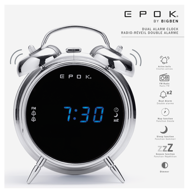 RADIOWECKER RR90 RETRO [SILVER] - Packshot