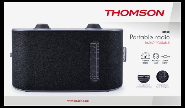 Thomson 4-Band-Radio RT250 - Packshot