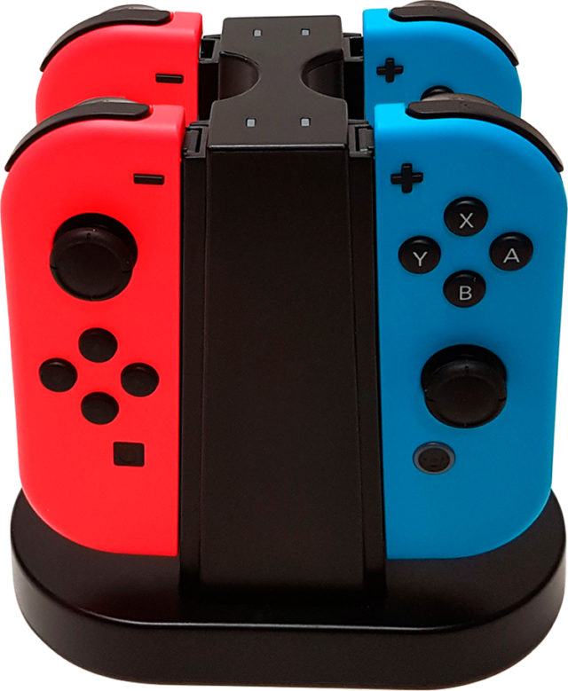 Quad Charging Station für Joy-Con – Packshot