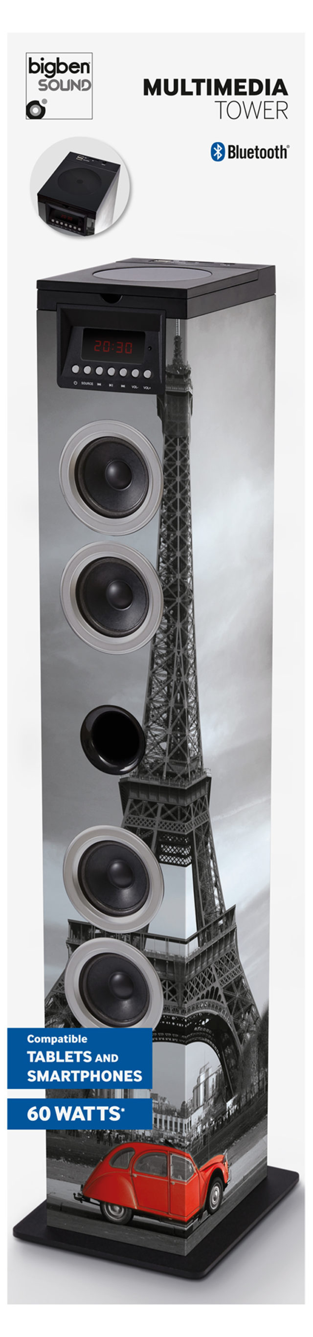 Sound Tower TW12CD – Paris - Packshot