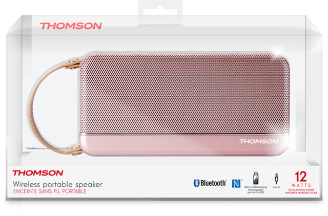 Thomson Bluetooth®-Lautsprecher WS02 - Packshot