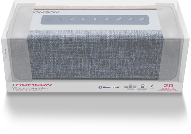 Thomson Bluetooth®-Lautsprecher WS04 - Packshot