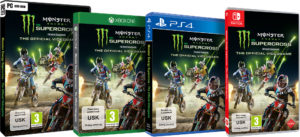 Packshots Monster Energy Supercross
