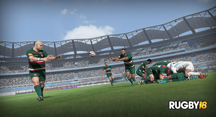 RUGBY 18 – Screenshot#1