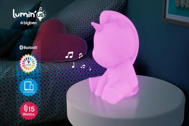 Bluetooth®-Lautsprecher Lumin´us – Unicorn – Bild#2tutu#4tutu#6tutu#8tutu#10tutu#11