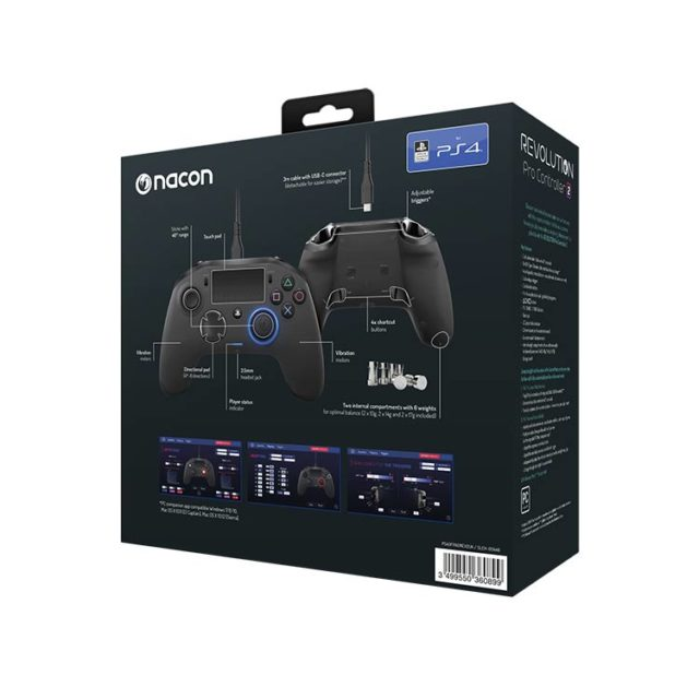 NACON PS4 Revolution Pro Controller 2 – Bild