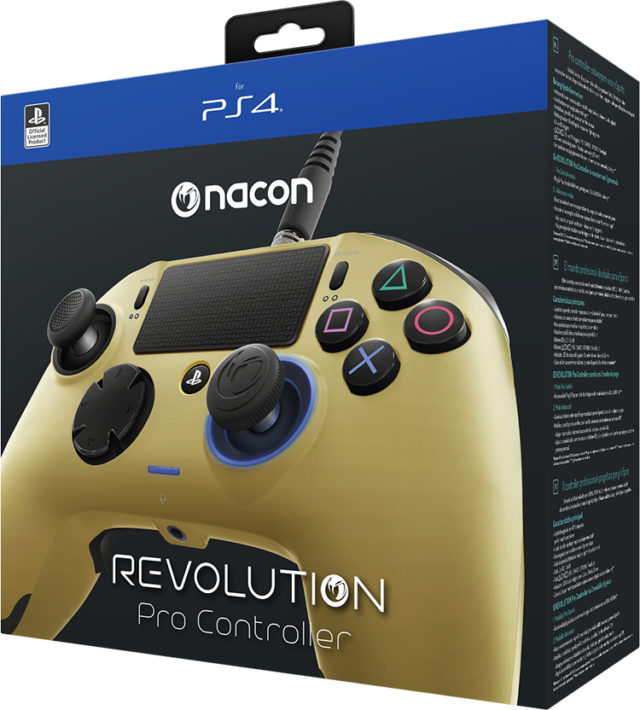 NACON PS4 Revolution Pro Controller – Bild#2tutu#4tutu#5