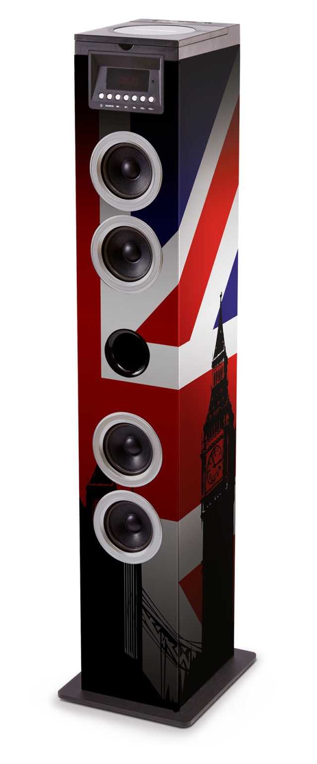 Sound Tower TW12CD – Union Jack – Bild