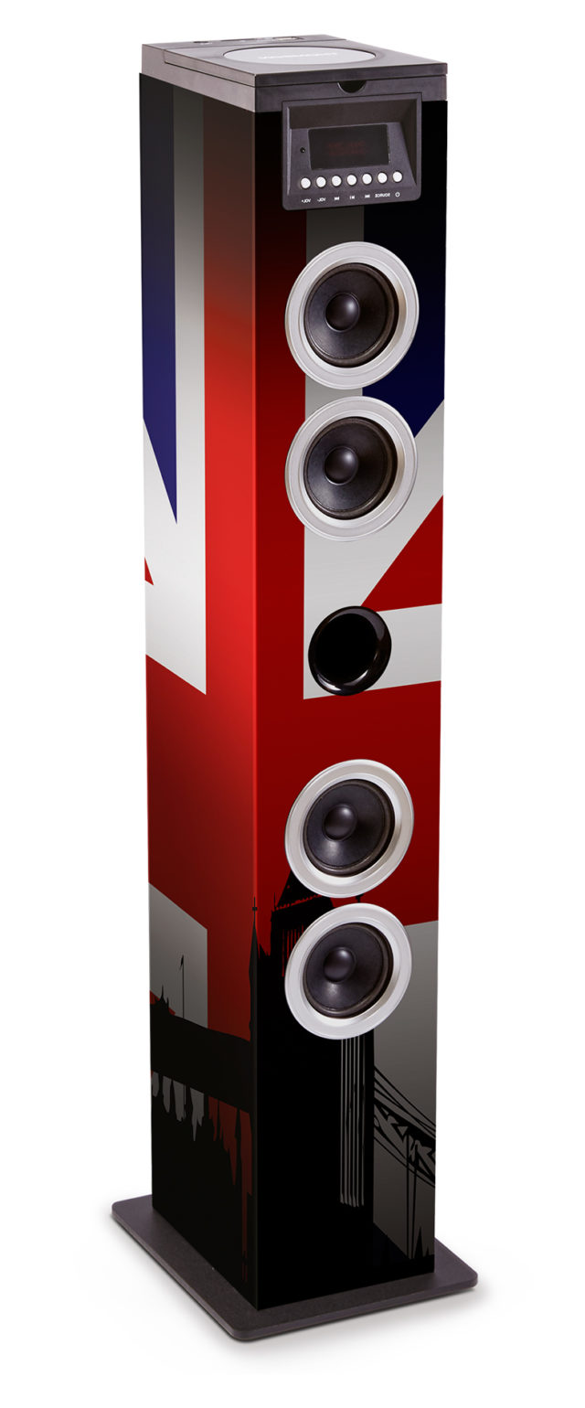 Sound Tower TW12CD – Union Jack – Bild#1
