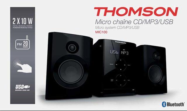 Thomson Micro-Kompaktanlage MIC100BT - Packshot