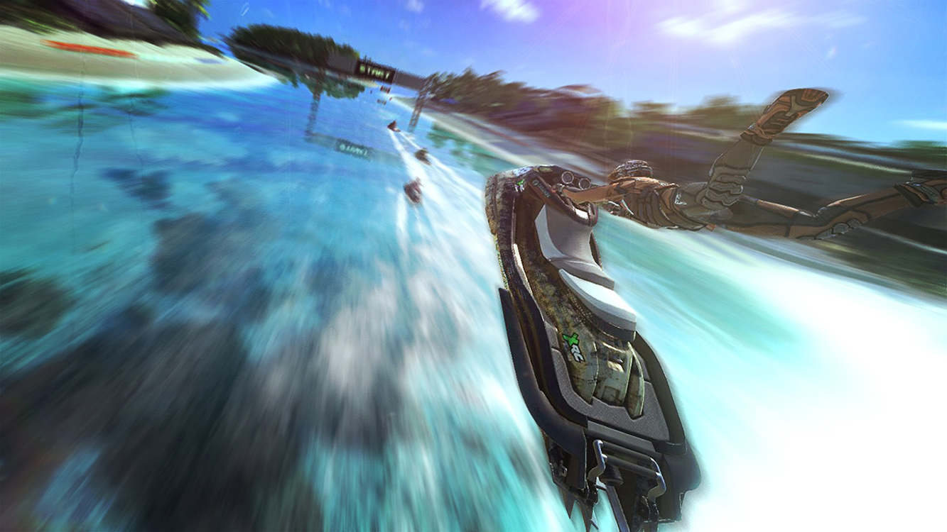 Aqua Moto Racing Utopia – Screenshot#1