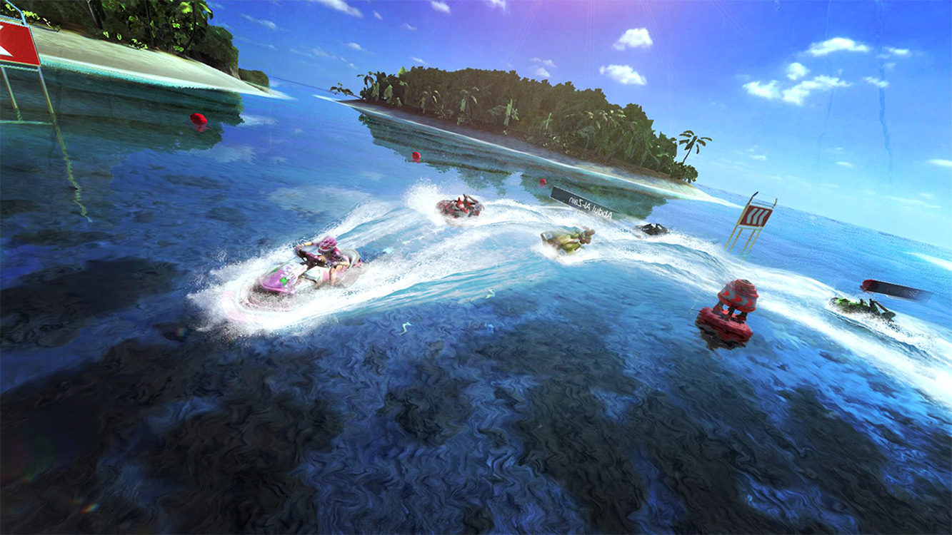 Aqua Moto Racing Utopia – Screenshot#2tutu