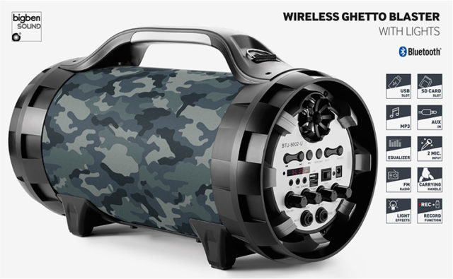 Bluetooth®-Lautsprecher BT50 Army - Packshot