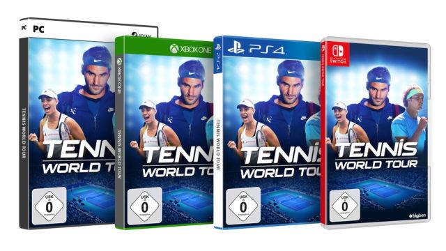 Tennis World Tour Packshots