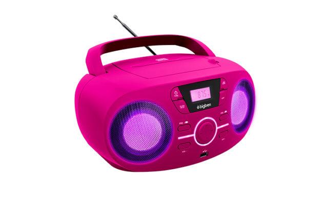 Tragbares CD/Radio CD61 – Bild