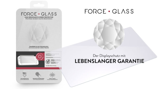 Force Glass Displayschutz für Nintendo Switch