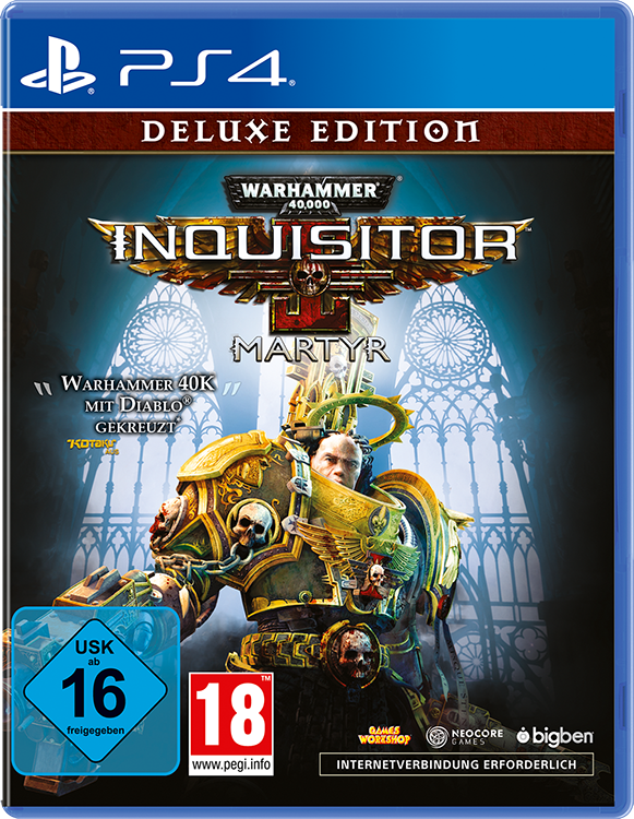 Warhammer 40,000: Inquisitor – Martyr – Deluxe Edition - Packshot