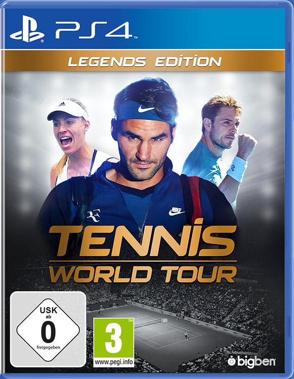 Tennis World Tour Legends Edition - Packshot