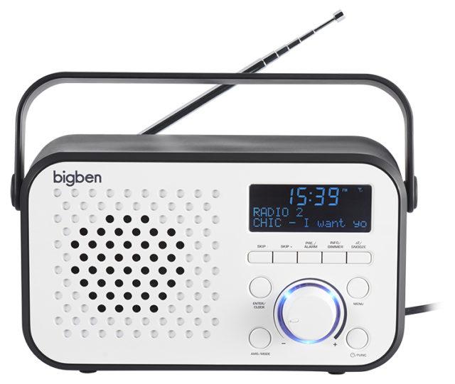 Tragbares DAB-Radio TR24 - Bild