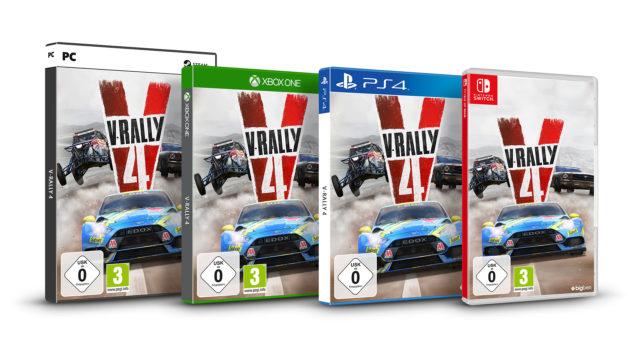V-Rally4 Packshots