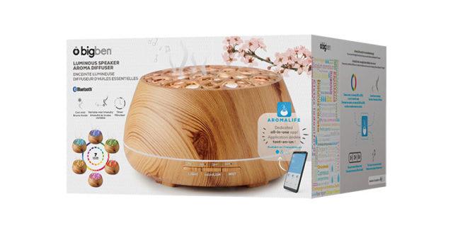 Bluetooth®-Aroma-Lautsprecher BTA01 – Packshot