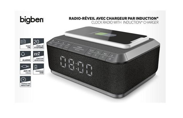 Radiowecker RR140 Induktion [grey] - Packshot