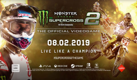 Milestone und Feld Entertainment, Inc. kündigen Monster Energy Supercross - The Official Videogame 2 an