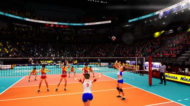 Spike Volleyball Screenshot 1
