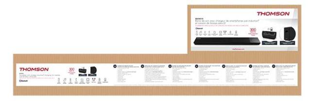 Thomson Soundbar SB270iBT - Packshot