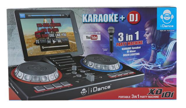 Karaoke DJ Station XD101 - Packshot